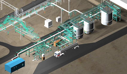 Diesel Chemical Additive Facility first