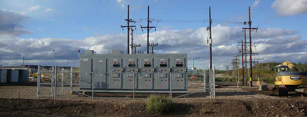 25kV Switchgear For ETF Temporary Chillers