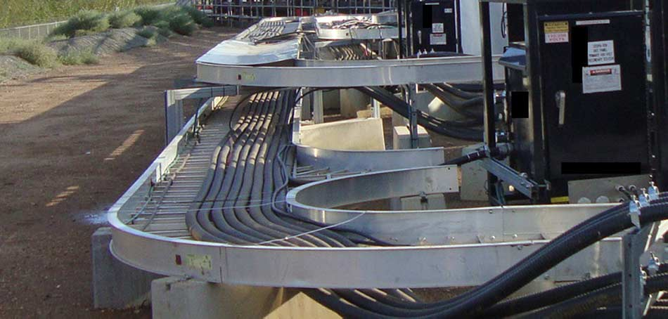 Cable Trays 2 for ETF Temporary Chillers