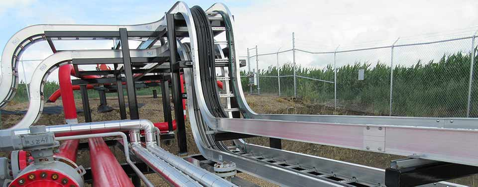 Cable Trays For Compressor Station