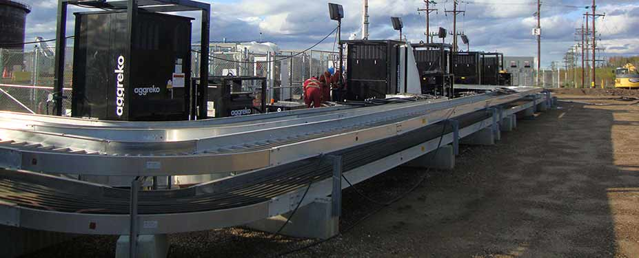 Cable Trays for ETF Temporary Chillers