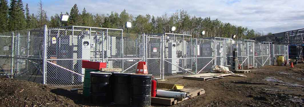 Five 1.5 MVA Transformers for ETF Temporary Chillers