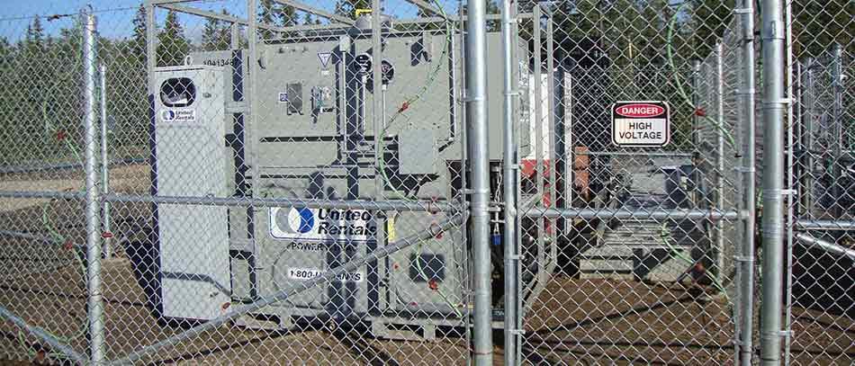 1.5 MVA Transformer for ETF Temporary Chillers