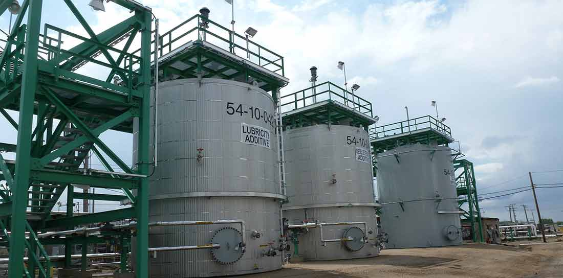 Diesel Chemical Additive Project Tanks