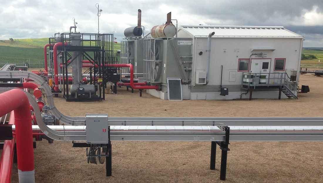 Pipeline Reciprocating Compressor Station