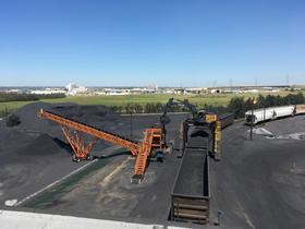 New Railcar Unloading System