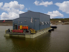 Oil Sands TFT Reclaim Water Barge