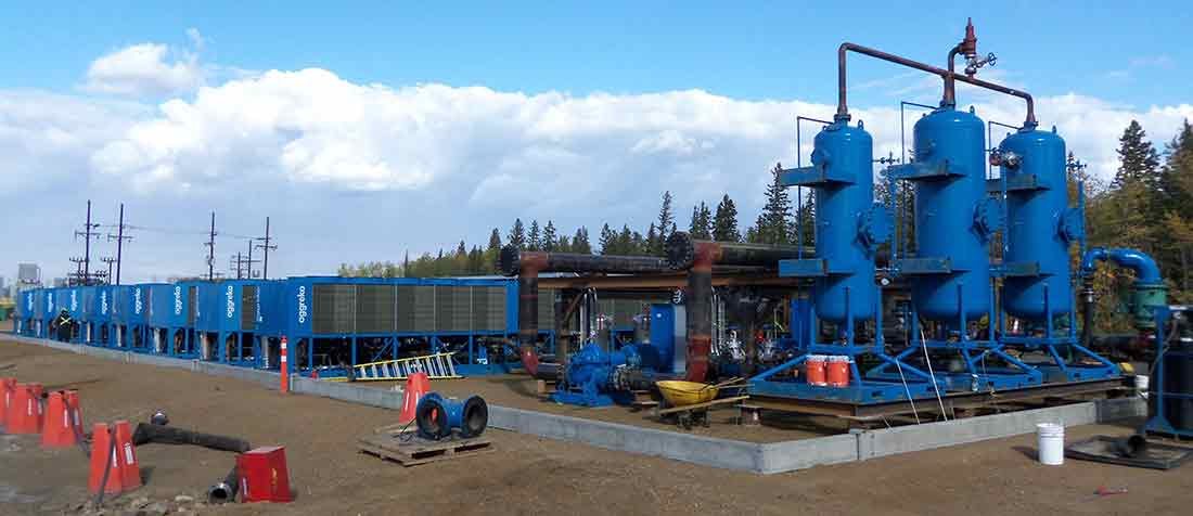 Oil Sands Temporary Chiller Sizing