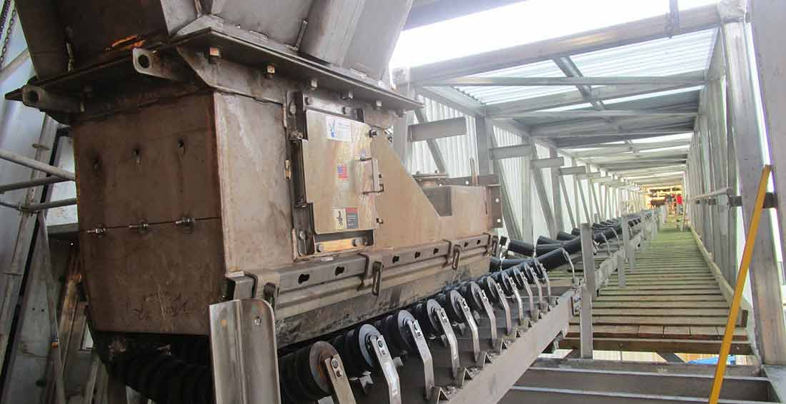 Feed Hopper And Conveyor Project