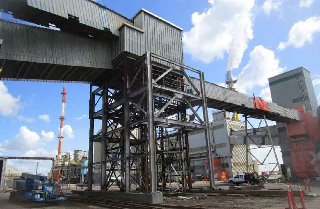 Track 5 Loadout Facility with New Stainless Steel Structure