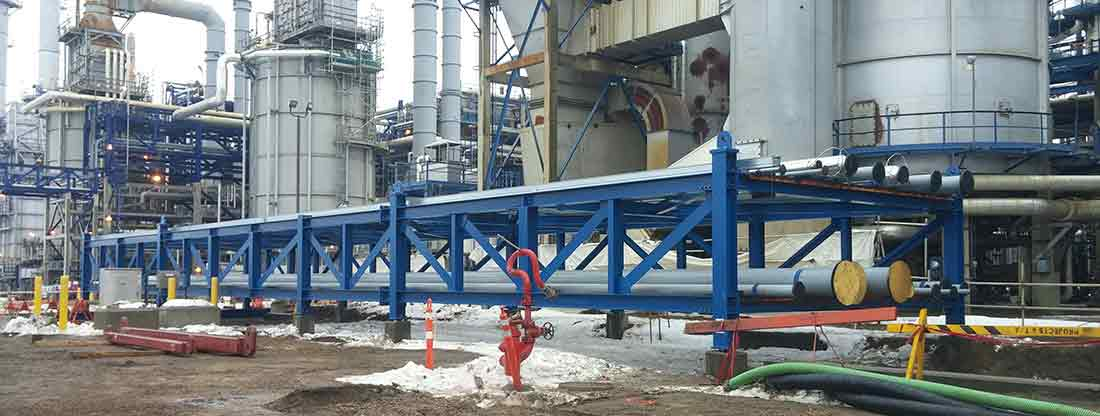 Replace Buried Refinery Piping With New Pipe Module